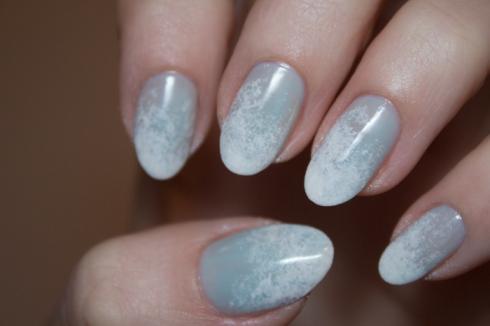 Frosty nails