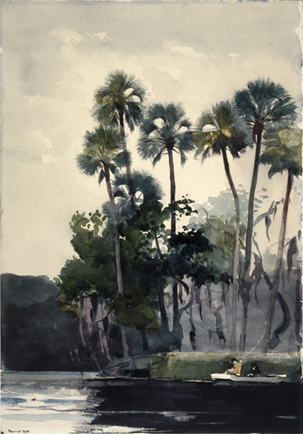 Winslow Homer's Homosassa River (1904)